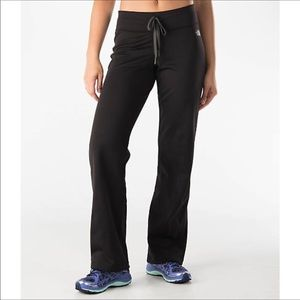 North Face fleece lined athletic/lounge pants
